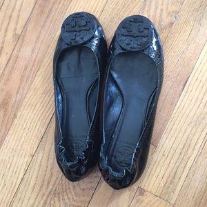 Tory Burch patent Reva Ballet Flat